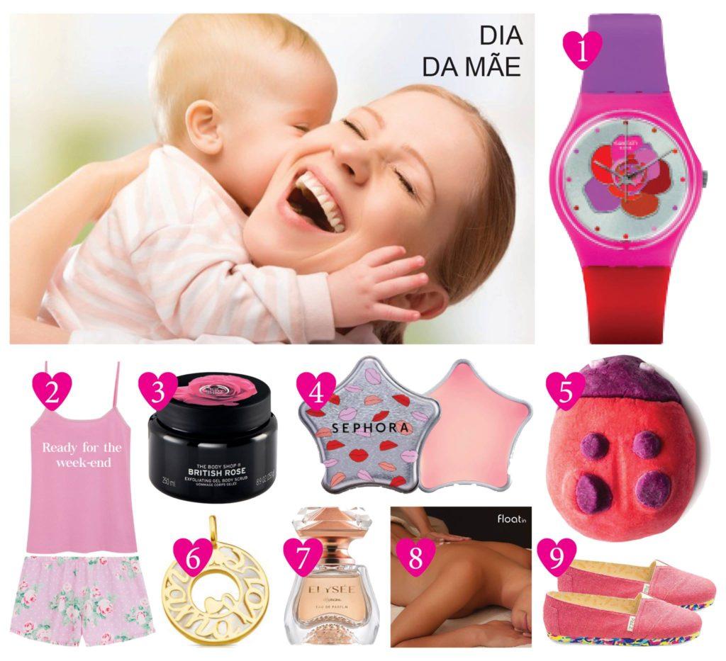Dia da Mãe Sugestões